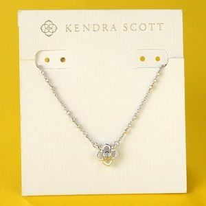 New Kendra Scott Rue Silver Necklace
